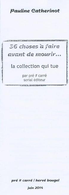 Juin 2014 (éditions Pré#Carré)