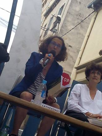 Avec Cécile Ouhmani (c) Armand Dupuy