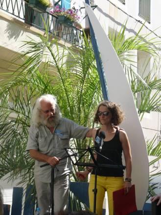 Avec Antoine Simon (c) Micheline Simon