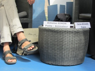 Les pieds d'Antoine Simon (c) Pauline Catherinot