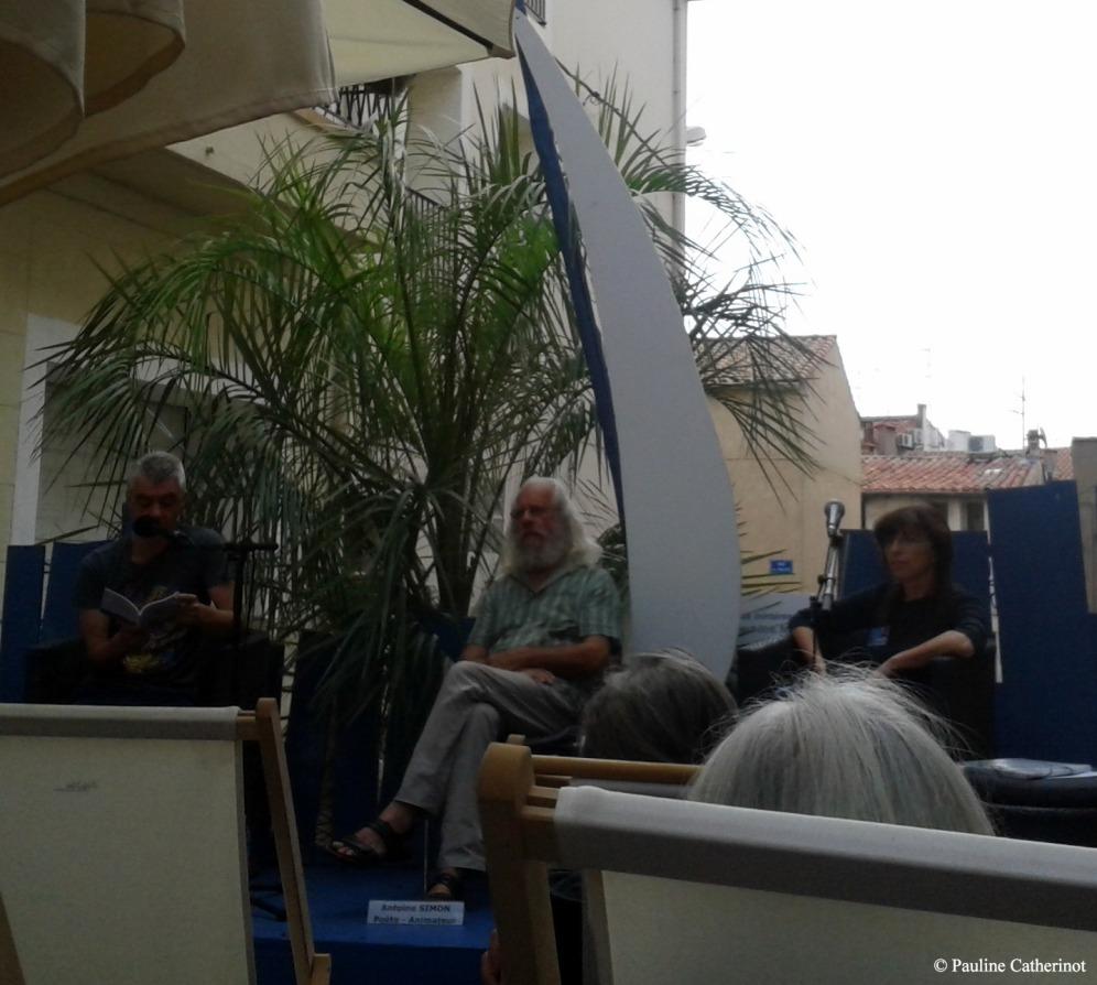 Frank Smith, Antoine Simon et Claudie Lenzi