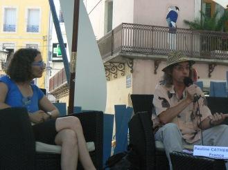 Avec Yves Artufel (c) Eric Blanco