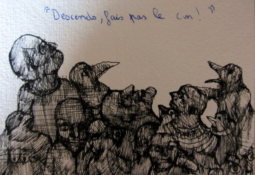 Illustration: Eric Demelis / Texte: Pauline Catherinot