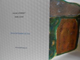 En un battement de cils (2016) Avec André JolivetLittle big book Artist - Le monde des villes - LYON - Voltije édition